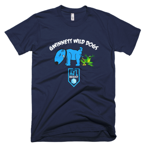 Gwinnett Wild Dogs Ingress Resistance T-shirt -- Navy