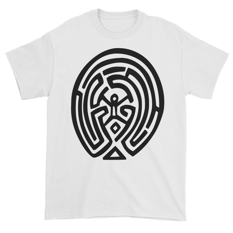 Westworld Man in the Maze Tshirt White