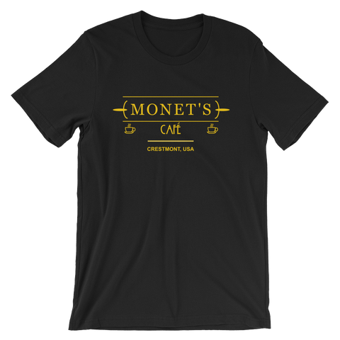 Monet's Cafe T-shirt from 13 Reasons Why