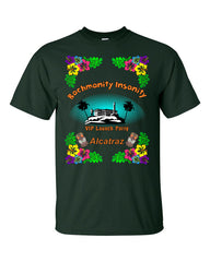 Bachmanity Insanity T-shirt from Silicon Valley -- Forest Green