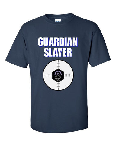 Ingress Guardian Slayer T-shirt -- Navy