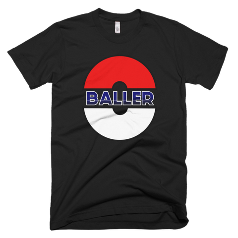 Pokemon Go Baller T-shirt -- Black