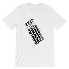 Tire Track T-shirt from The Grand Tour -- White