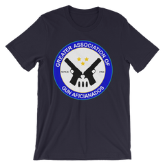 Greater Association of Gun Aficionados T-shirt from Preacher -- navy