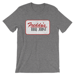 House of Cards Freddy's BBQ Joint T-shirt -- Heather Grey