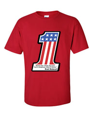 Evel Knievel T-shirt -- Red