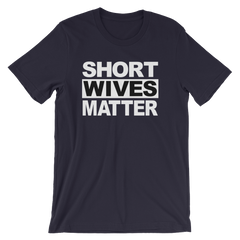 Short Wives Matter T-shirt -- Navy