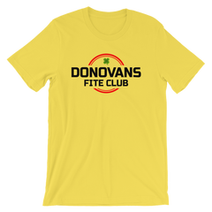 Donovans Fite Club T-shirt -- Yellow