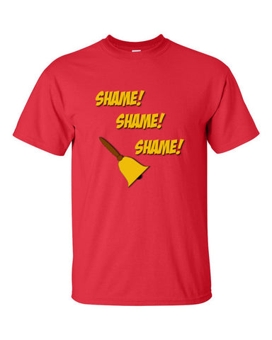 Game of Thrones Shame Bell T-shirt -- Red