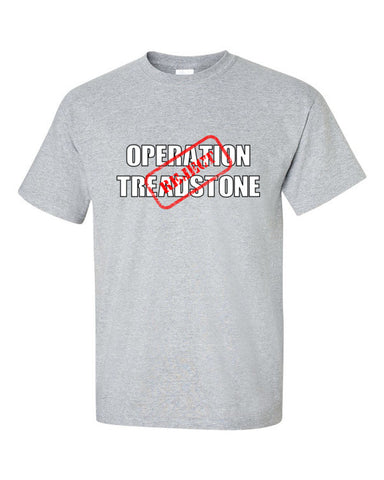 Jason Bourne Operation Treadstone T-shirt -- Grey