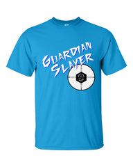 Ingress Guardian Slayer T-shirt for Guardian Hunters -- Bright Blue