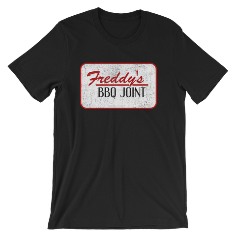 House of Cards Freddy's BBQ Joint T-shirt -- Black