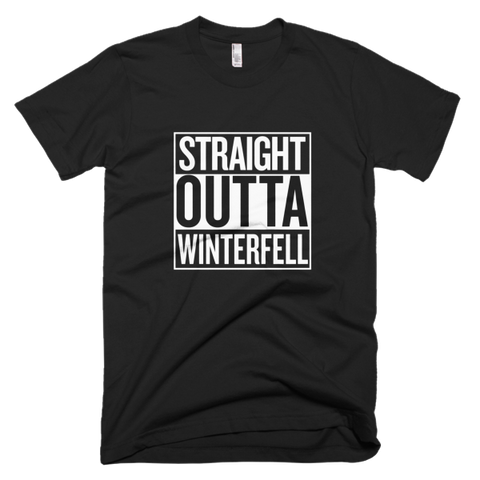Straight Outta Winterfell T-shirt for Game of Thrones fans