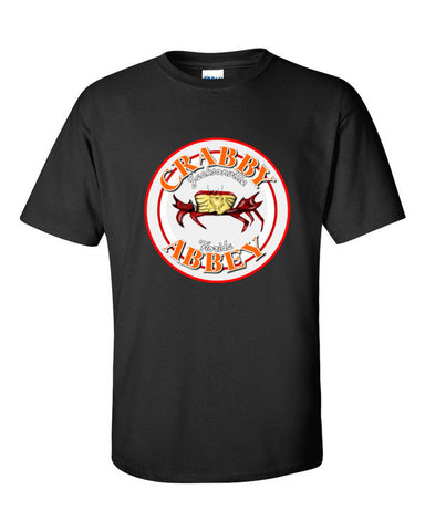 Ash vs. Evil Dead Crabby Abbey T-shirt -- Black