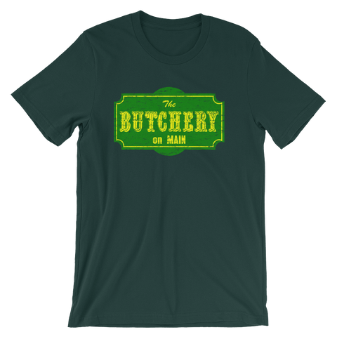 The Butchery on Main T-shirt from AHS Cult -- Forest
