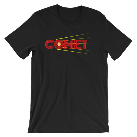 Halt and Catch Fire Comet T-shirt -- Black