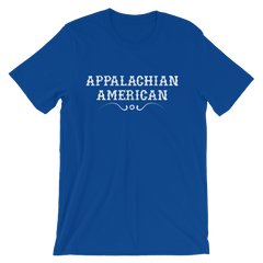 Appalachian American T-shirt -- Blue