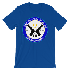 Greater Association of Gun Aficionados T-shirt from Preacher -- blue
