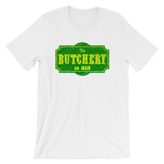 The Butchery on Main T-shirt from AHS Cult -- White