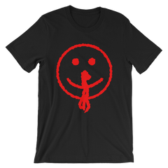 Bloody Smiley Face T-shirt from AHS Cult -- Black