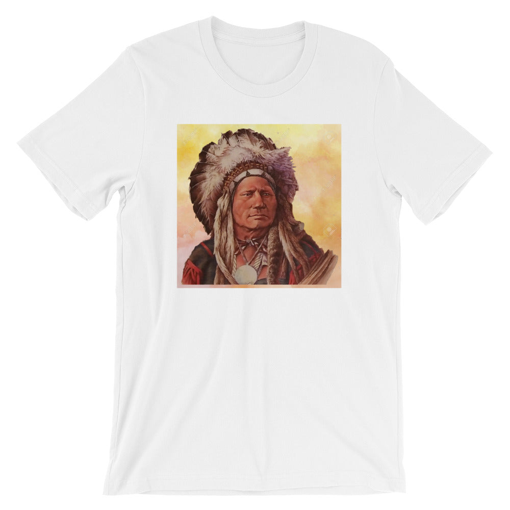 Native American Chief Running Antelope T-shirt