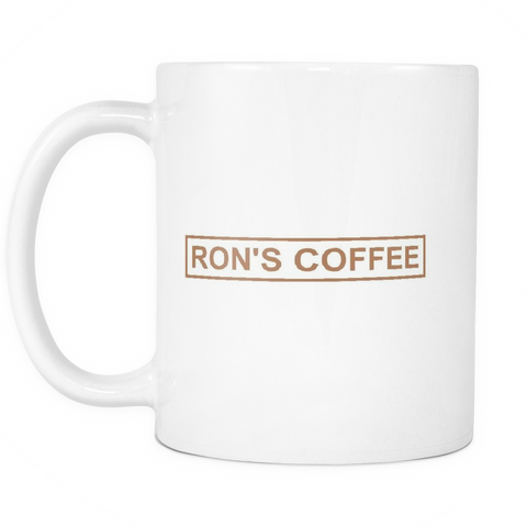 Mr. Robot Ron's Coffee Mug