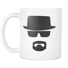 Breaking Bad Heisenberg Mug White