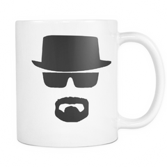Breaking Bad Heisenberg mug left