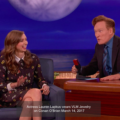 VLM Jewelry Lauren Lapkus Conan O'Brien Kinetic Cool Ring