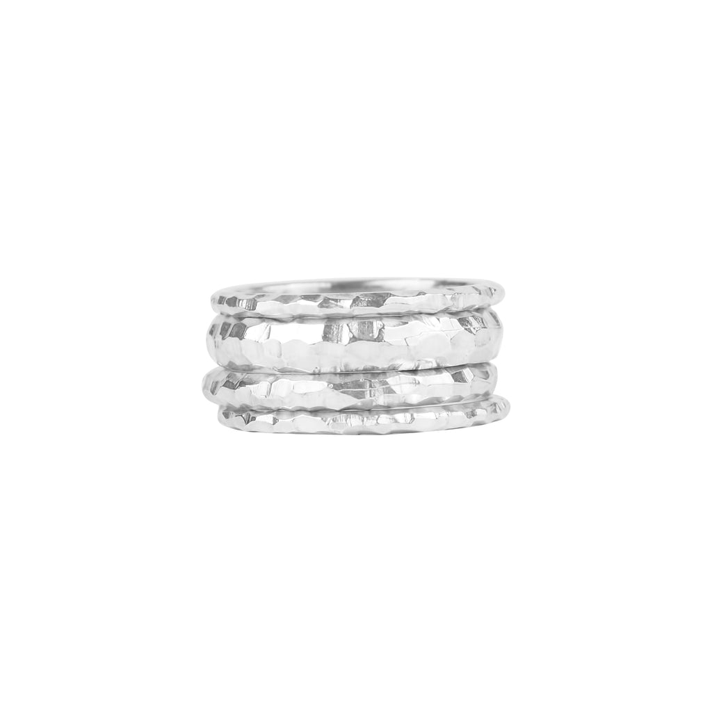 vlmjewelry.com | Silver Stacking Rings | Atmosphaera Collection | Handmade Jewelry