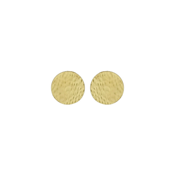 vlmjewelry.com | Gold Denarii Coin Stud Earrings | Atmosphaera Collection | Handmade Jewelry