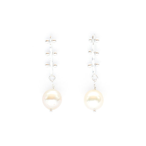 Los Angeles Modern Jewelry Designer South Sea Pearl Earrings