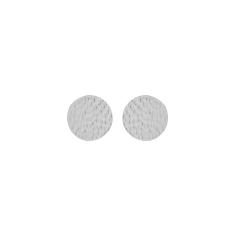 vlmjewelry.com | Silver Denarii Coin Stud Earrings | Atmosphaera Collection | Handmade Jewelry