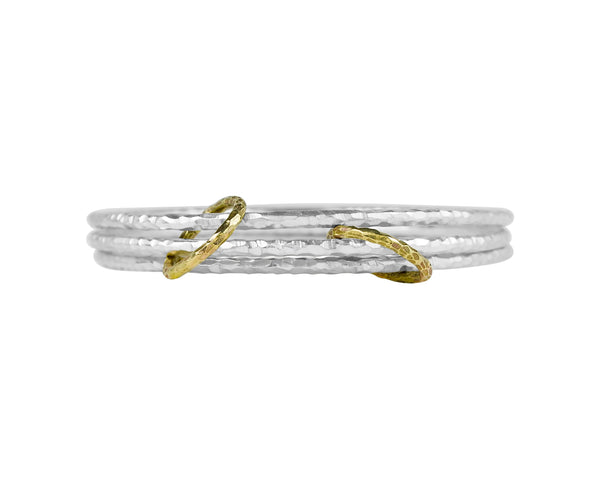 vlmjewelry.com | Brass Ceres Stacking Bangles | Handmade in Los Angeles