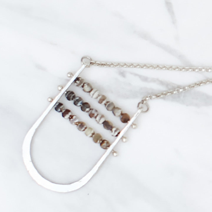 Abacus Pendant Necklace