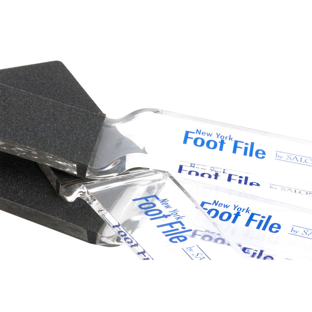 NEW YORK FOOT FILE STANDARD, CLEAR -  CODE NFFJC