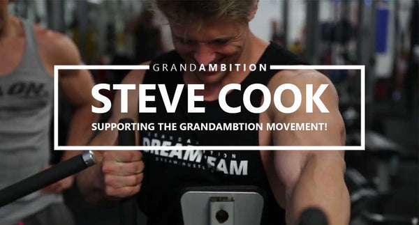 Steve Cook smashing it with our DREAMTEAM tank!