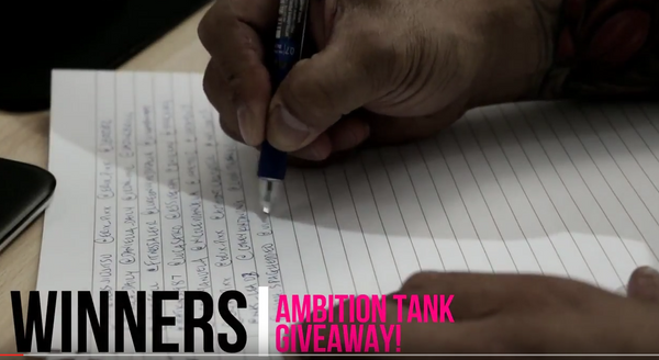 Ambition Over Everything Tank Giveaway! Winners Announced!