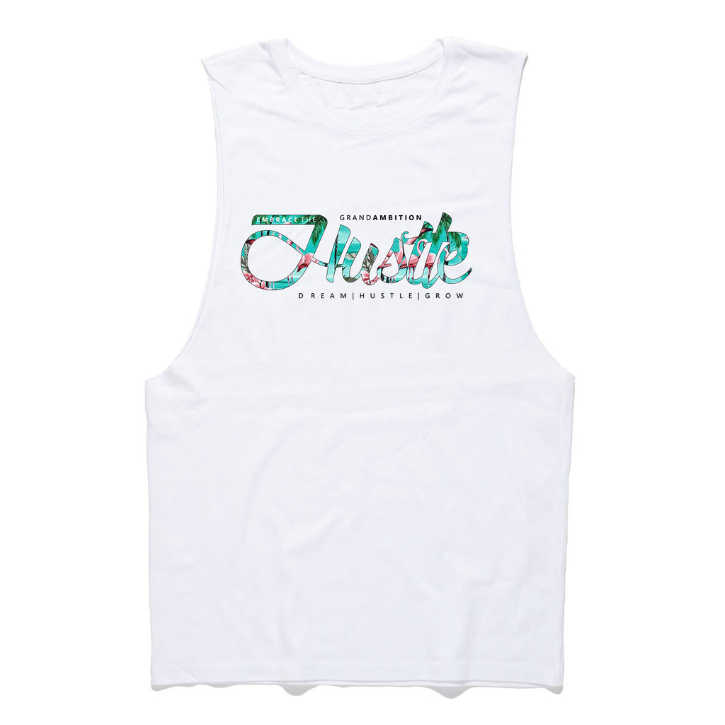 Embrace the Hustle Tank (Paradise)