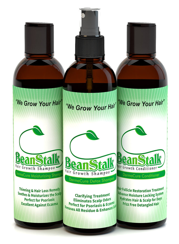 BeanStalk Shampoo, Detox Shampoo & Conditioner Package