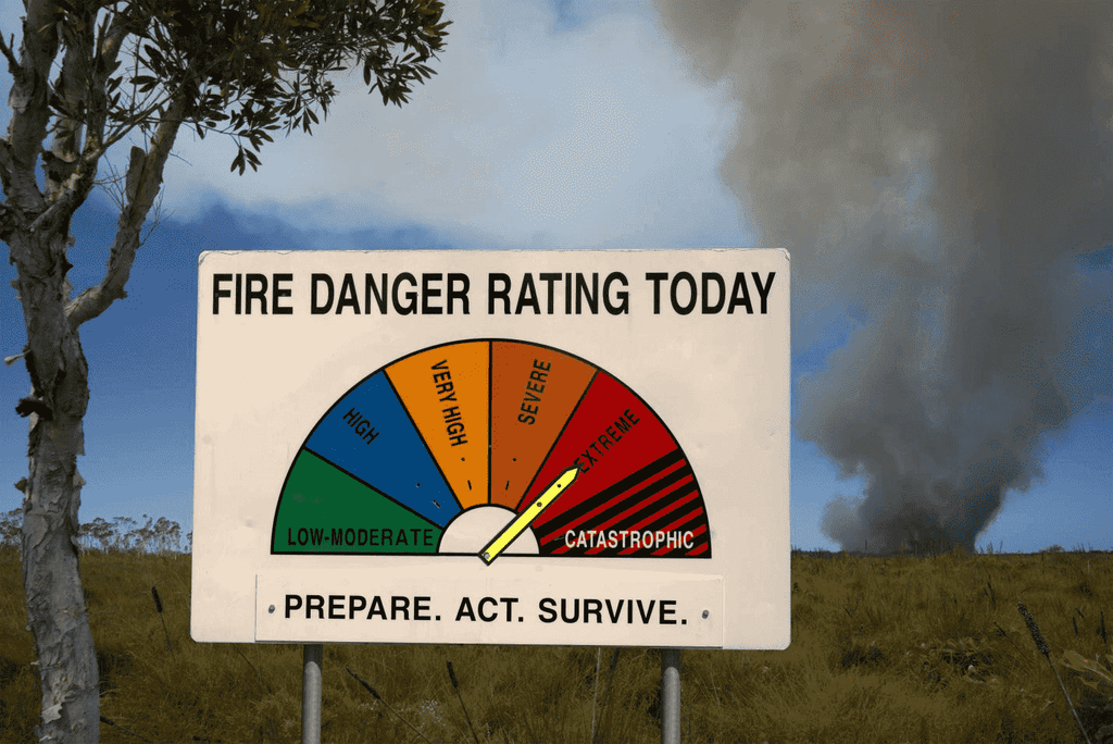 fire danger rating today