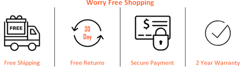 Worry Free Shipping