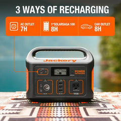 Jackery Bolt 6000 mAh Ultra-Compact External Battery Charger, High-Speed Travel Charger with Built-in MFI Certified Lightning and Micro USB Cables Portable Power Bank for iPhone, Galaxy, Nintendo