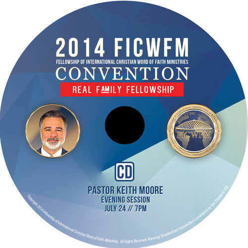 Pastor Keith Moore - CD