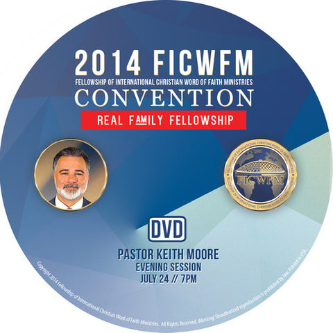 Pastor Keith Moore - DVD