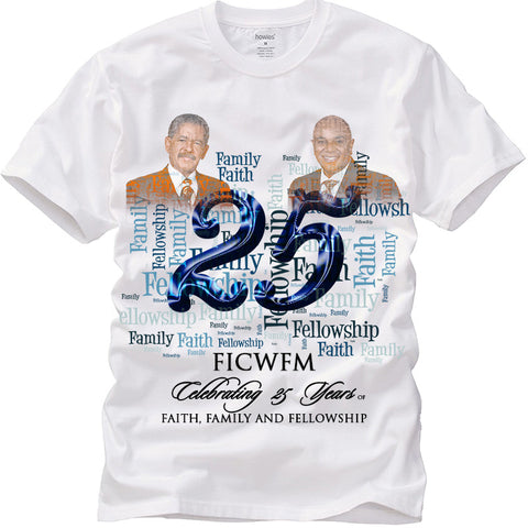25th Year Anniversary T-Shirt