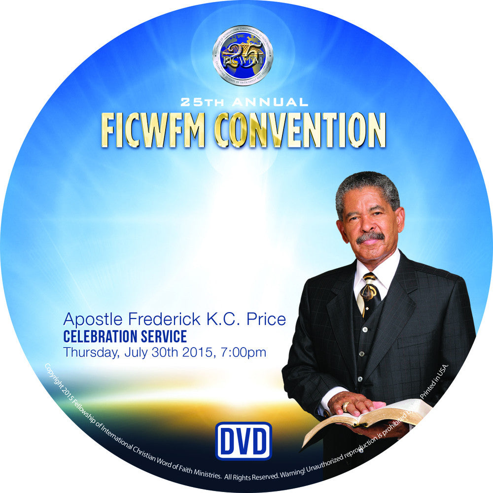 Apostle Price Celebration Service - DVD