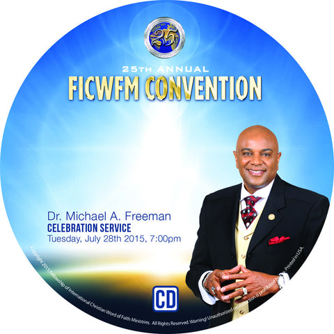 Dr. Michael A. Freeman Celebration Service - MP3