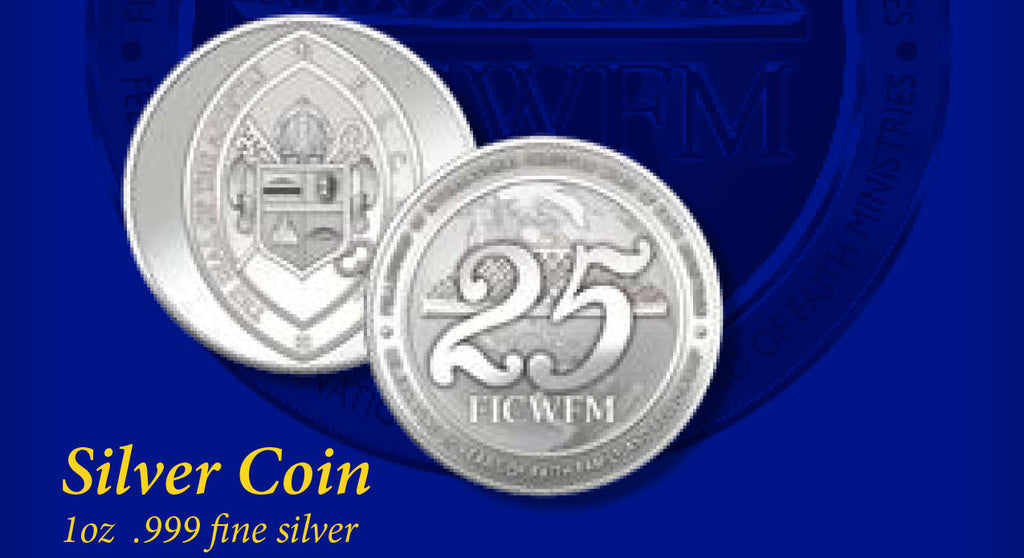 Silver 25th Anniversary Coin