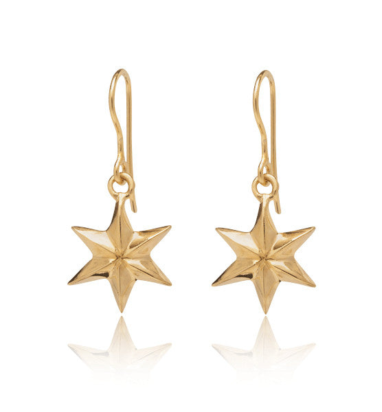 Star, Earring, Gold, Kerry, Rocks, Jewellery